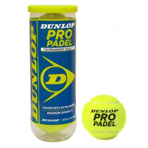 3 balles DUNLOP pro PADEL